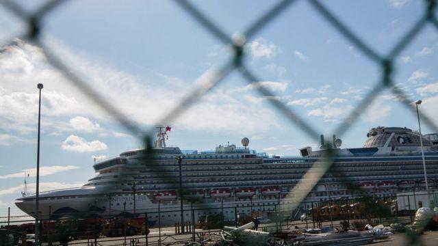鑽石公主號上的乘客最少要到2月18日才能完成隔離觀察期。
