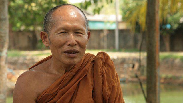 Buddhist monk Phra Subin Paneeto