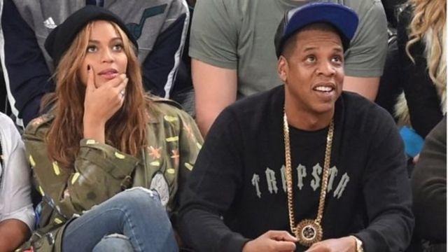 Beyonce da mijinta Jay Z