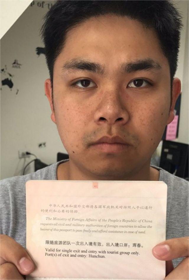 """顏聖憲接受BBC中文訪問時稱,自己是""""受害者""""。"""
