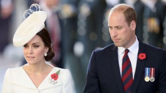 Catherine Middleton y el príncipe William