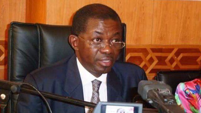 Séraphin Moundouga a annoncé son départ du poste de ministre de la justice.