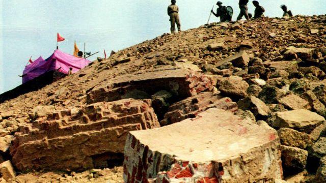 अयोध्या विवाद, राम जन्मभूमि, बाबरी मस्जिद, घटनाचक्र
