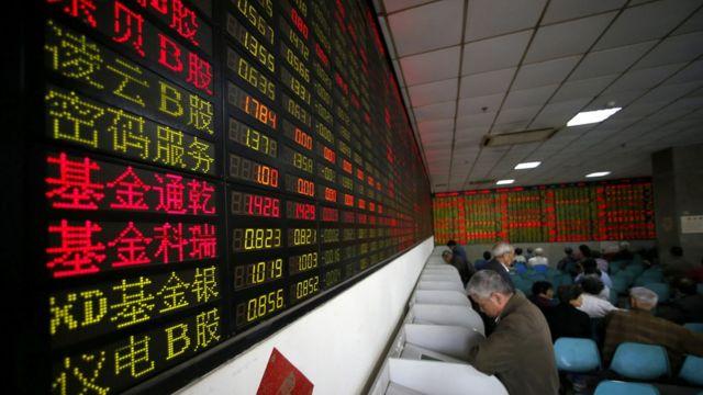 上海交易所资料图片。