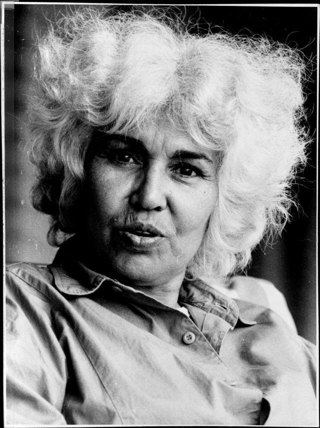 صورة لنوال السعداوي عام 1986