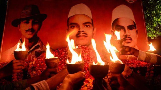 மக்களால் பெரிதும் போற்றப்படும் பகத்சிங், ராஜகுரு மற்றும் சுக்தேவ்