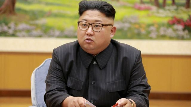 उत्तर कोरिया के नेता किम जोंग उन
