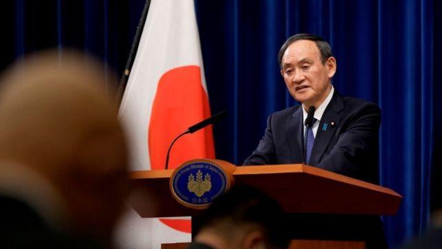 Japonya Başbakani Yoshihide Suga