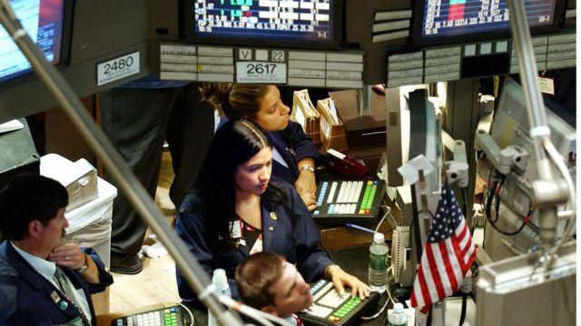 Mercado en Wall Street