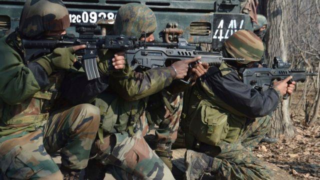 भारतीय सेना के जवान.