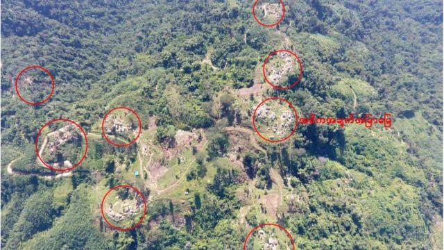 ကေအိုင်အေ စခန်းများ