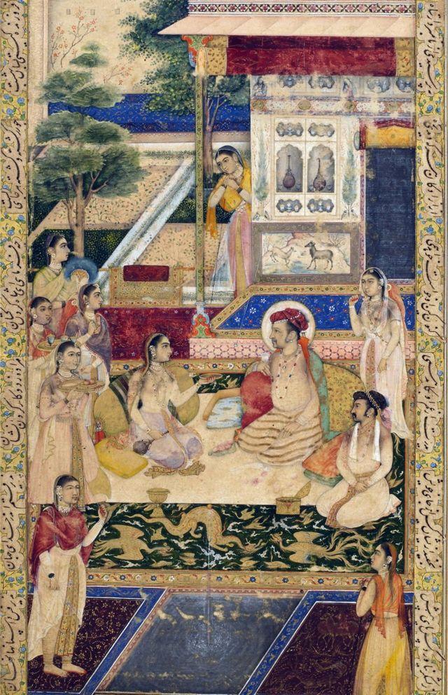 ఖుర్రం, నూర్ జహాన్లతో జహంగీర్