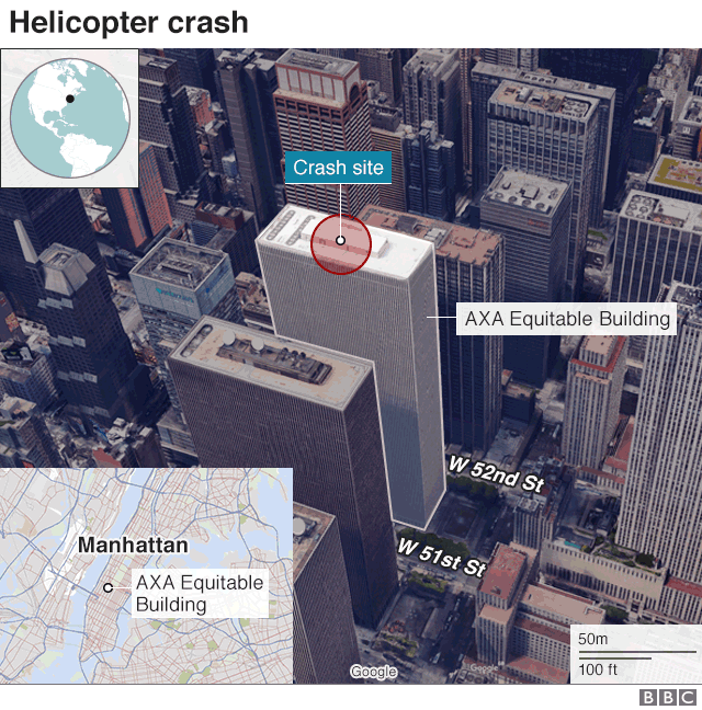 New York helicopter crash: Pilot 'did not know where he was'
