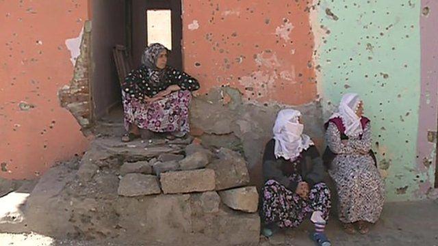 People in Diyarbakir
