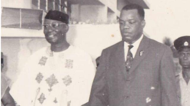 Nnamdi Azikiwe na Sir Odumegwu Ojukwu