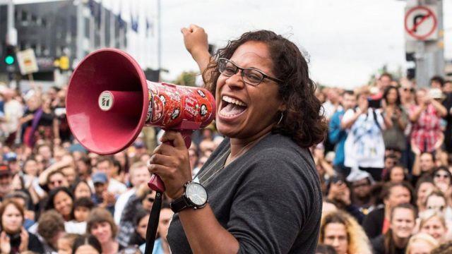 原住民权利抗议活动