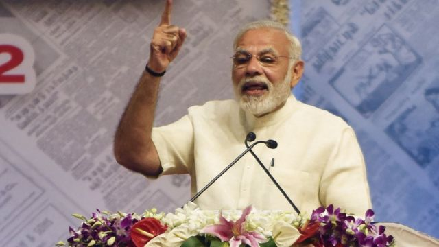 Narendra Modi, Premier ministre indien