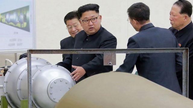 زعيم كوريا الشمالي كيم جونغ أون