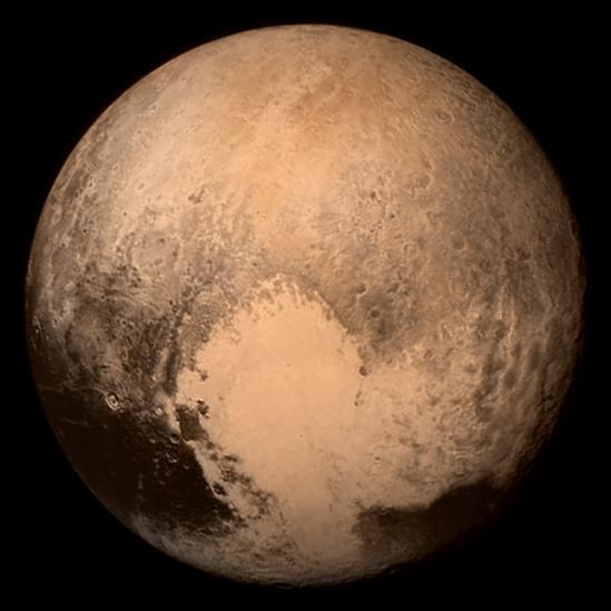 Плутон с сердцем