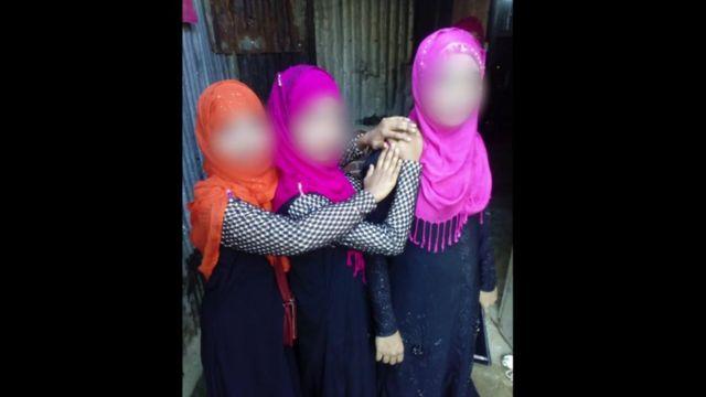 Meninas rohingya traficadas
