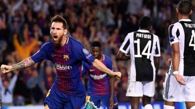 Mabao mawili ya Lionel Messi yalitosha kuisaidia Barcelona kuiadhibu Juventus mabao 3-0 katika uwanja wa Nou Camp.
