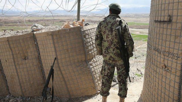 افغان پوځي