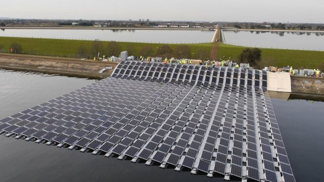 Europe's largest floating solar farm to open
