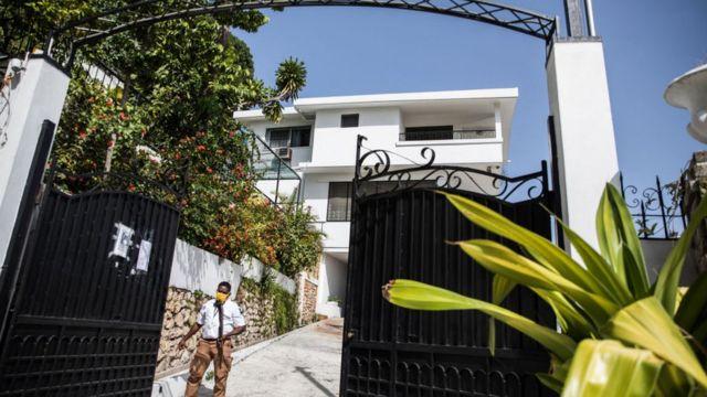 Embajada de Taiwán en Puerto Príncipe.