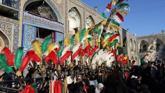 محرم در مشهد. عکس آرشیوی
