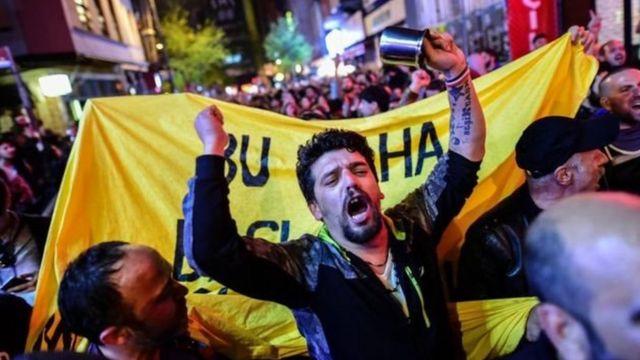 مخالفان در ترکیه