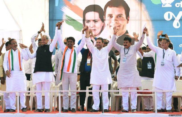 રાહુલ ગાંધી અને ગુજરાત કોંગ્રેસના નેતાઓની તસવીર
