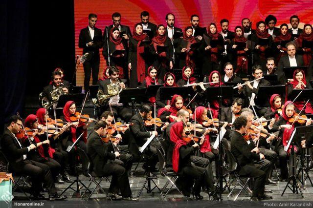 پایان جشنواره موسیقی با ارکستر ملی