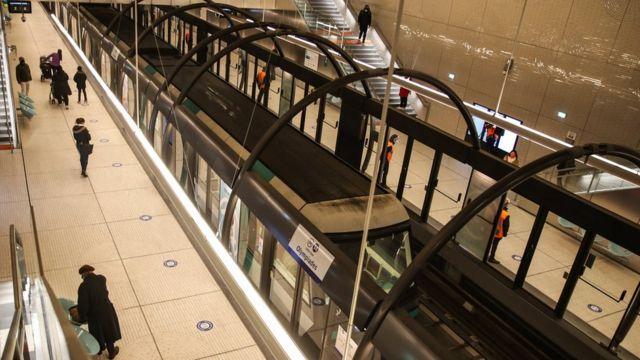 Paris metrosu