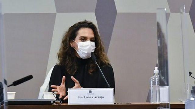 Luana Araújo na CPI