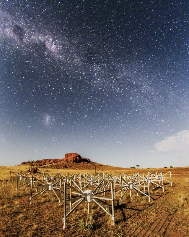 Part of the Murchison Widefield Array