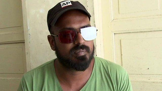 Blinded Kashmiri photojournalist Zohaib Butt