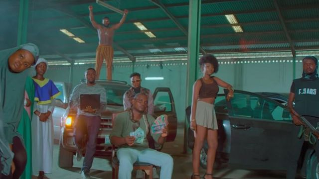 Clip wey show pipo inside Falz 'This is Nigeria' song