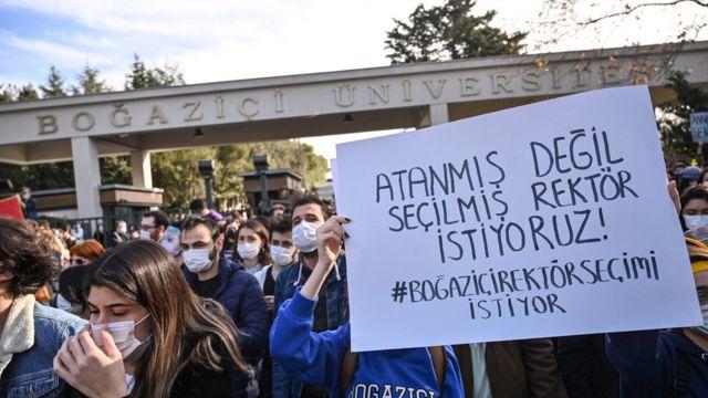 Boğaziçi Üniversitesi'nde protestolar Ocak ayından bu yana sürüyor, 4 Ocak 2021