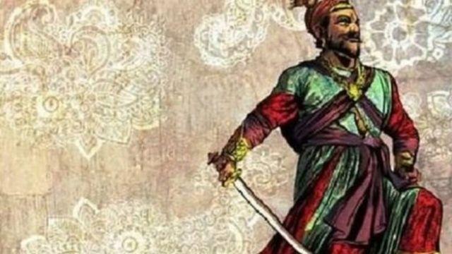 மராட்டிய மன்னர் சிவாஜி