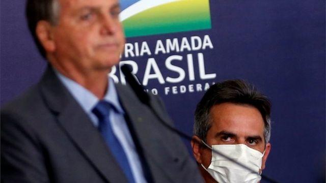 Ciro Nogueira com Bolsonaro