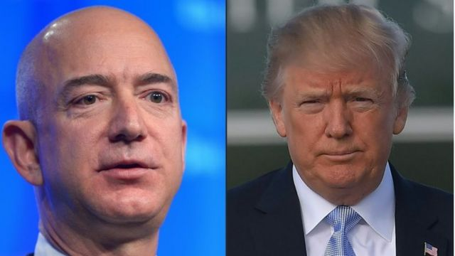 Donald Trump steps up attacks on Amazon
