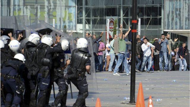 Kobani gösterileri