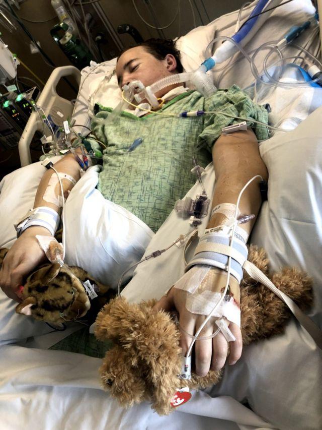 Imagem de Ament no hospital