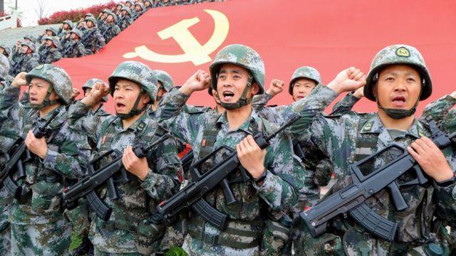 Çinli askerler
