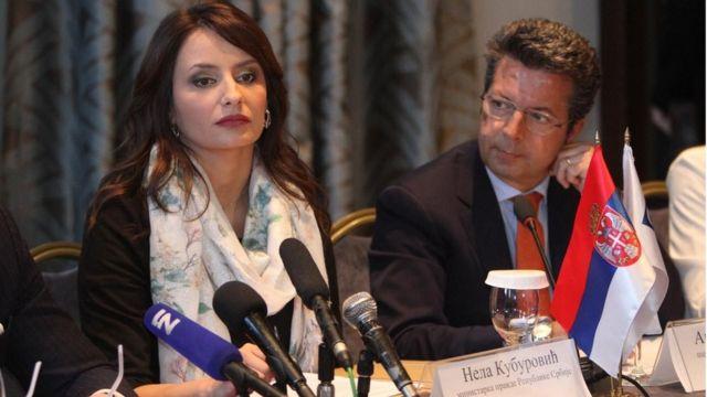 Ministarka pravde Nela Mihajlović