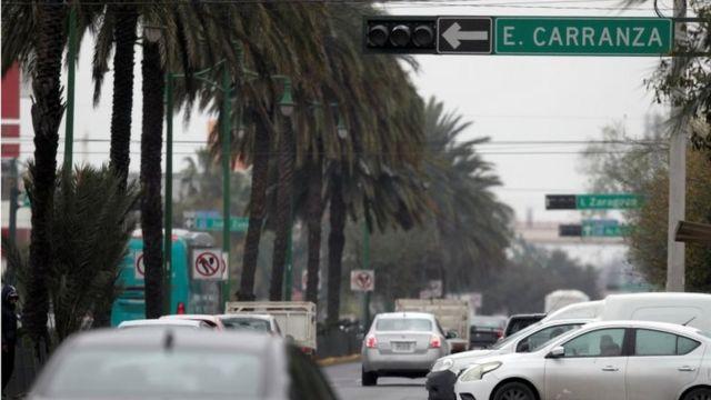 A street in Monterrey
