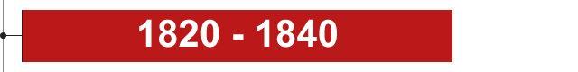 1820 - 1840