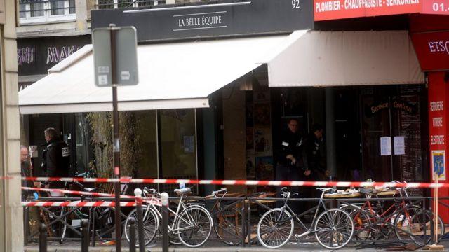 La Belle Equipe on 14 November, 2015