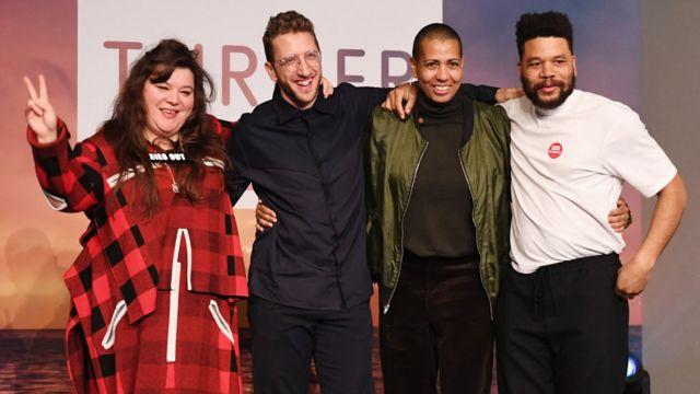 четверо обладателей премии Тернера в 2019 году