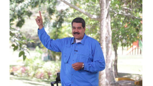 O presidente da Venezuela Nicolas Maduro